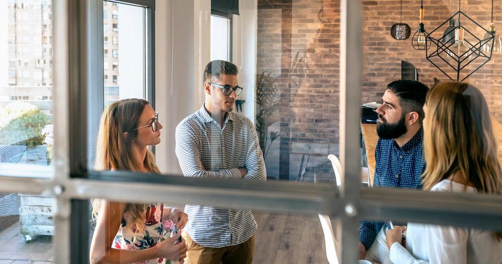 buisness meeting - new opportunities B2B
